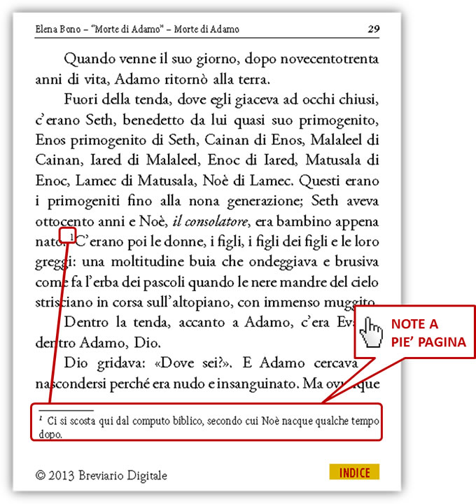 Morte di Adamo in PDF eBook di Elena Bono