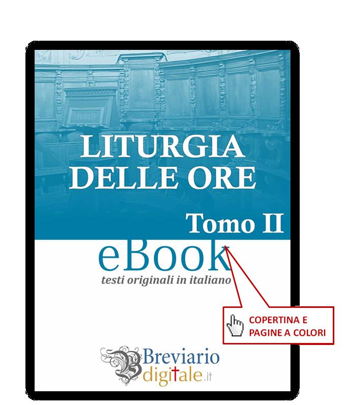 Liturgia delle Ore - tomo 2 - ebook, e-book, pdf